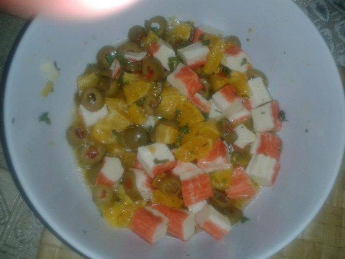 Salata, jelo, afrodizijak