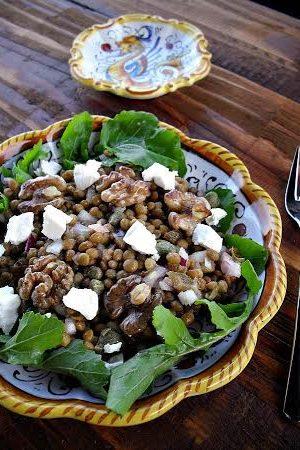 vegetarijanska salata od sočiva