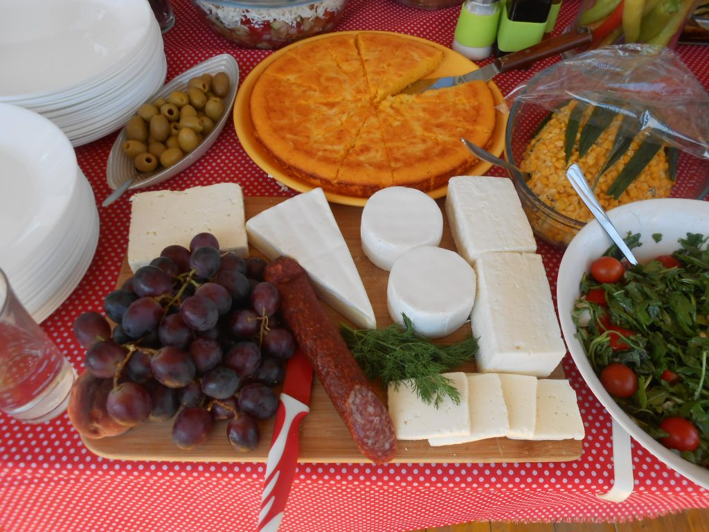 Četiri vrste sira za hladni bife
