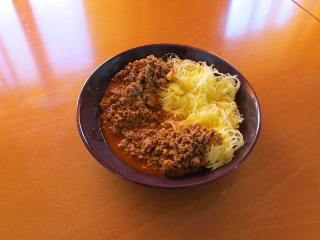 hrono špageti
