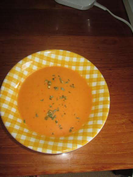 Čorbica od paprika i kokosovog mleka