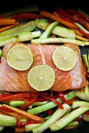 Hrono riba s povrćem