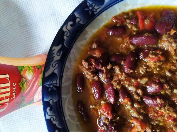Pasulj s mlevenim mesom na meksički način